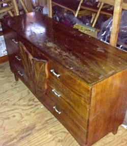 SOLD 1950's Koa Dresser