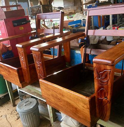 COMPLETED- 1930's Hawaiian Koa chairs