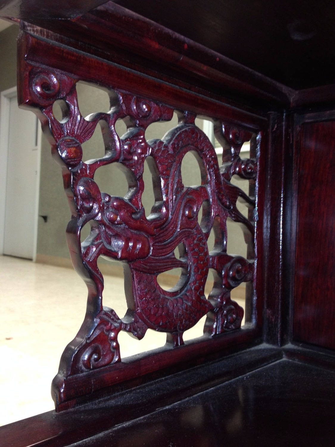 Cravings on Chinese Rosewood Tables