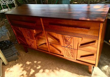 1940's Hawaiian Koa dresser