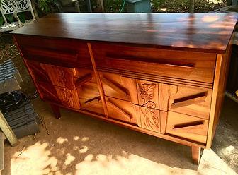 1940s Hawaiian Koa dresser