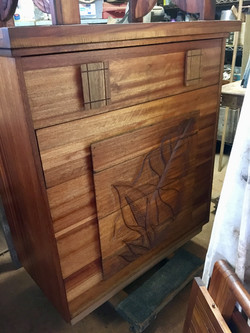 Vintage 1950s Chest of drawer