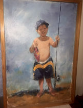"""First Fish"" by Al Furtado"