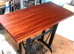 African Mahogany Desk/Work Table