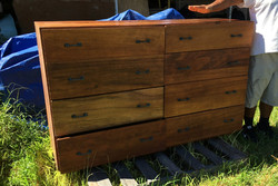 Large Hawaiian Koa 8 Drawer dresser