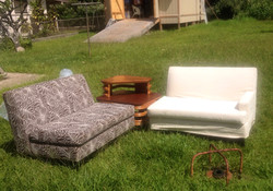 1950's Special C.S. Wo Love seats