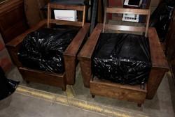 SOLD  1940s/50s Hawaiian Koa chairs