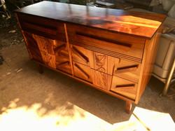 SOLD 1940's Hawaiian Koa Dresser