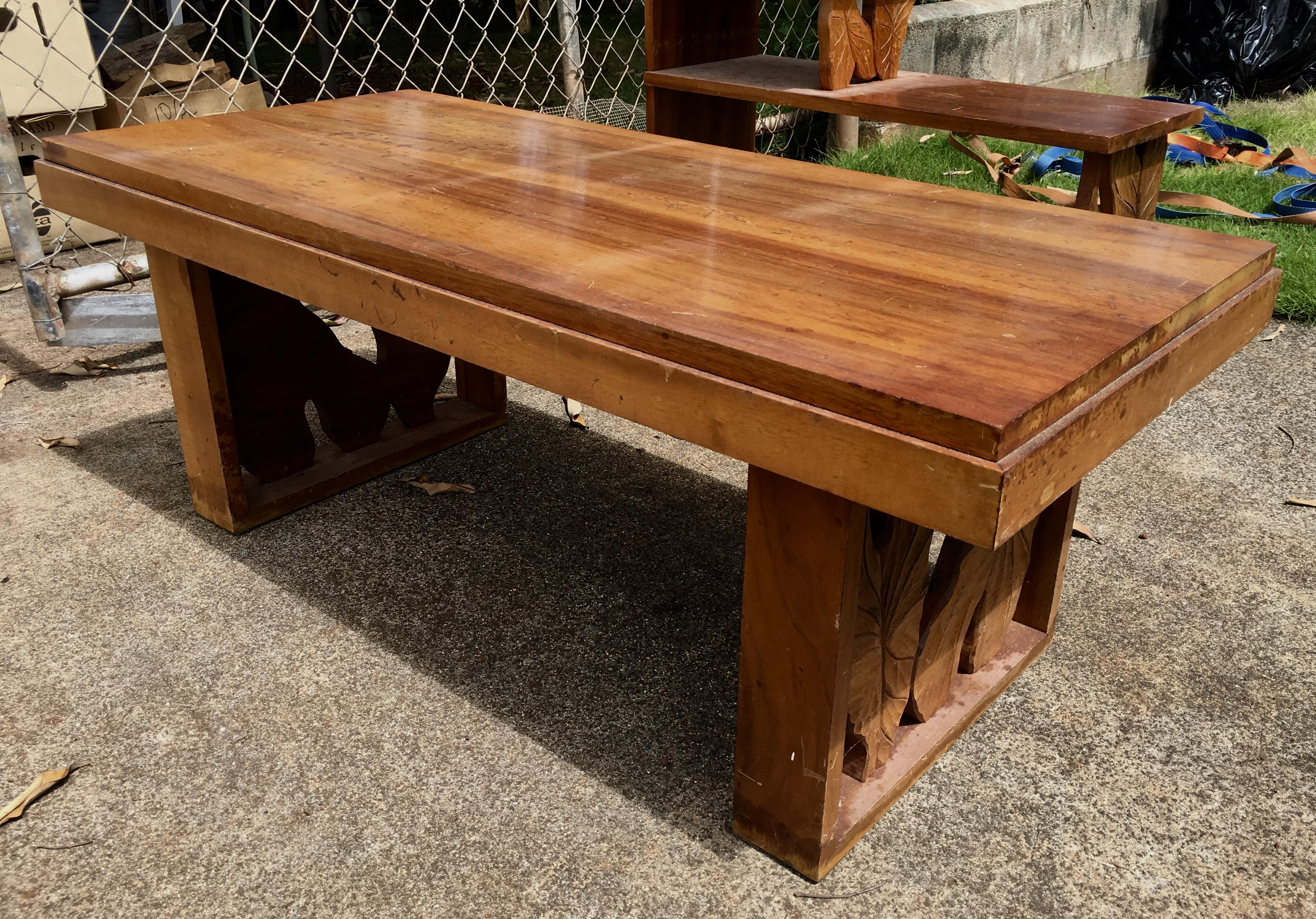 1950's Hawaiian Koa coffee table