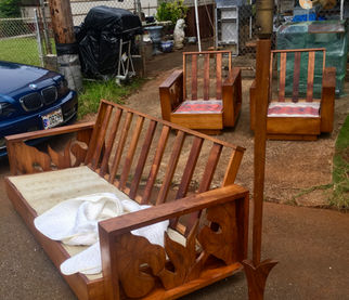 1940 Hawaiian Koa 5 pcs set