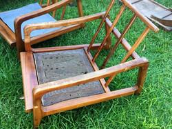 SOLD Koa Mid Century Mod Chairs