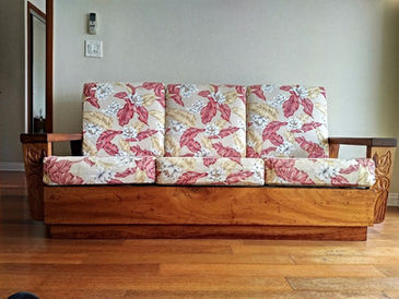1930's Hawaiian Koa Couch - ORIGINAL FINISH