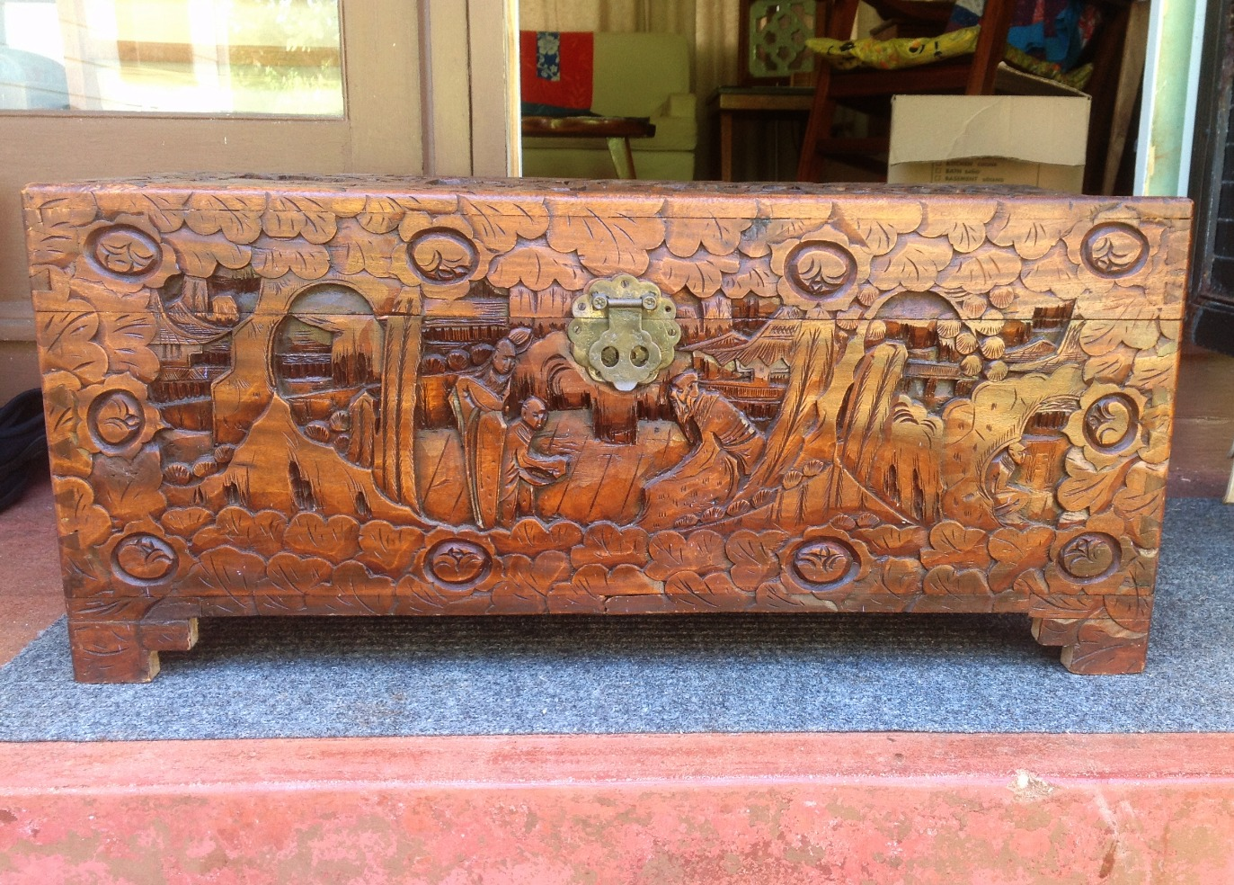 1940s Chinese Trunk