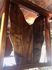 1954 Hawaiian Koa Antherium shield legs for 1954 Table