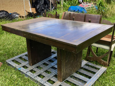 Vintage Hawaiian Dining table