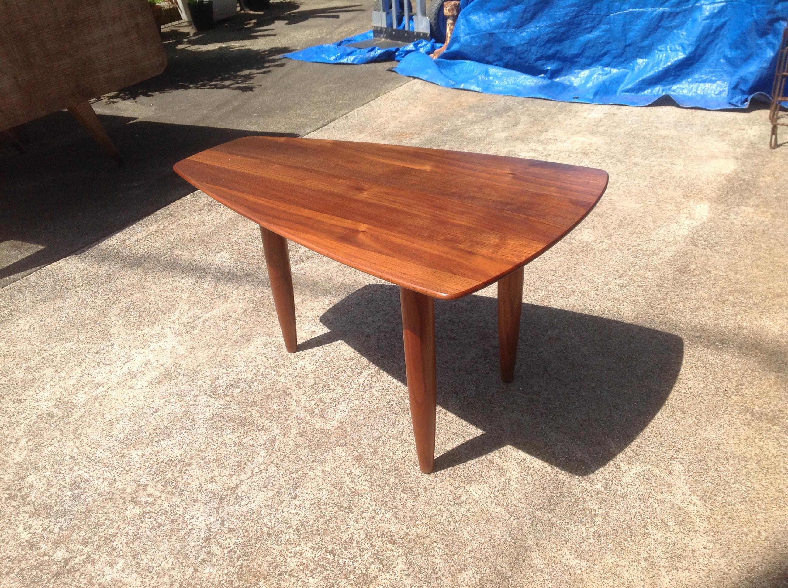 SOLD Walnut Side Table