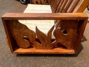 Carving for the 1940 Hawaiian Koa 5 pcs set