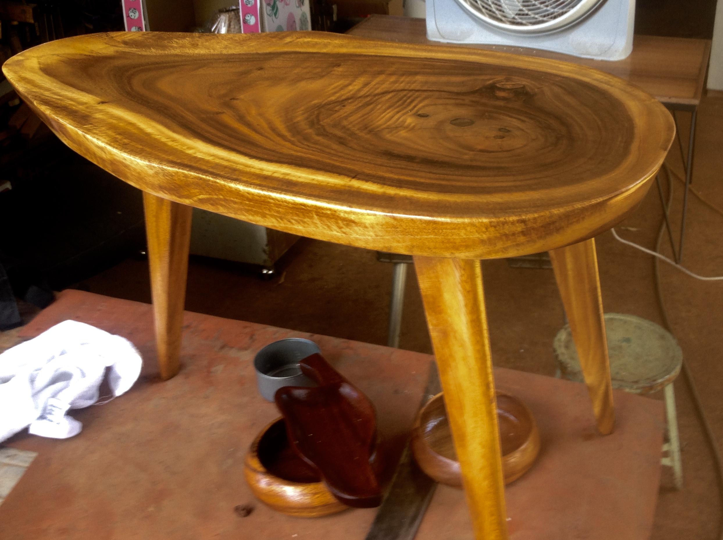 SOLD Mango Freeform End Table