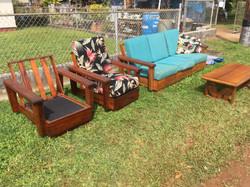 SOLD Hawaiian Koa 4 pcs set