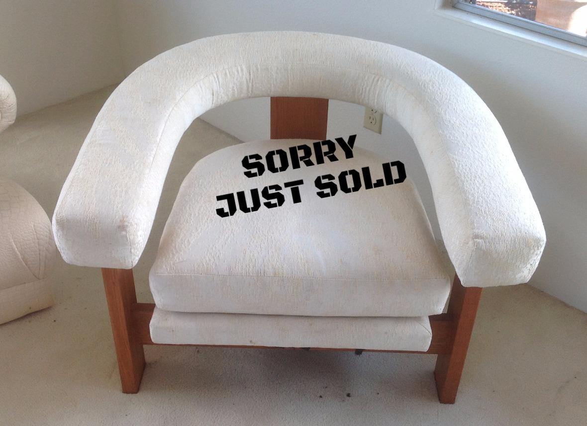 1980's  Metropolitan Furniture chair