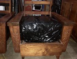 """SOLD  1940/50s Hawaiian Koa 6"""" chair"""