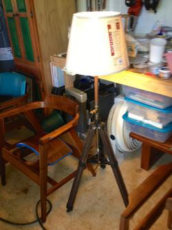 Flying Pig Hawaii Tri Pod Floor lamp