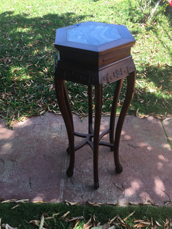 SOLD Vintage Rosewood Entry Table