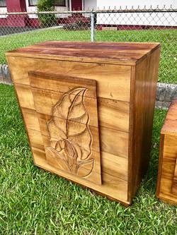 1950's Hawaiian Koa Dresser