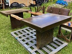 Vintage Hawaiian Dining room table