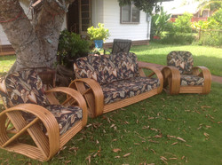 """""""SOLD"""" 6 Strand Bamboo Libving Room"""
