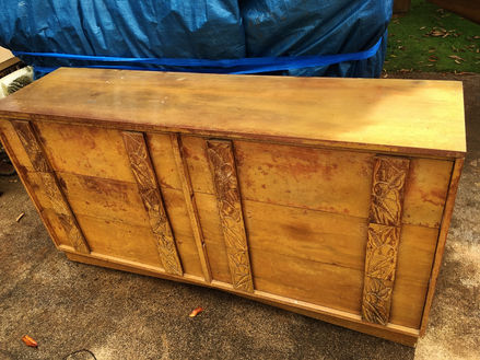 Just arrived, 1940 Hawaiian Koa Dresser