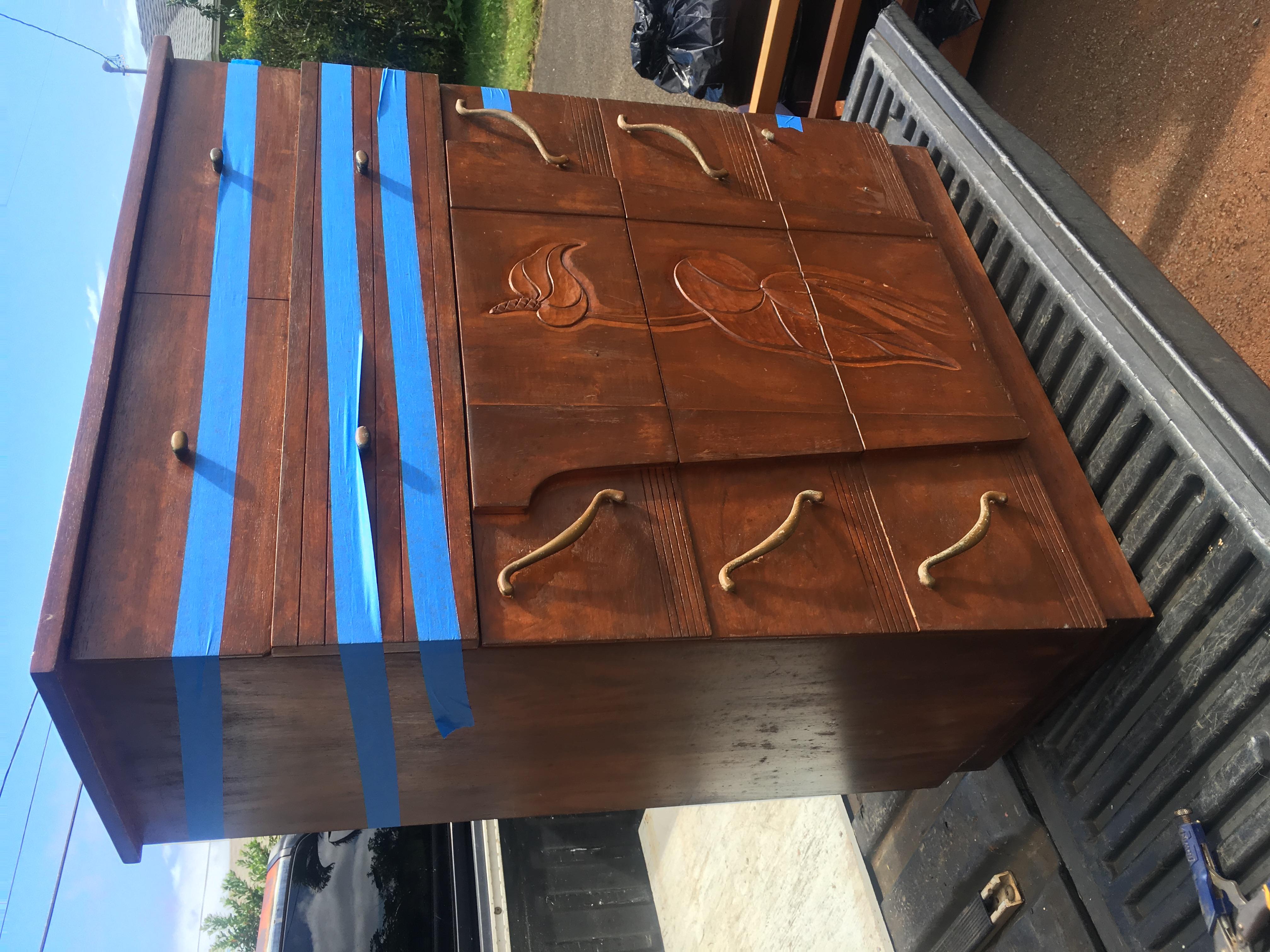 SOLD   Hawaiian Koa Chest of drawer