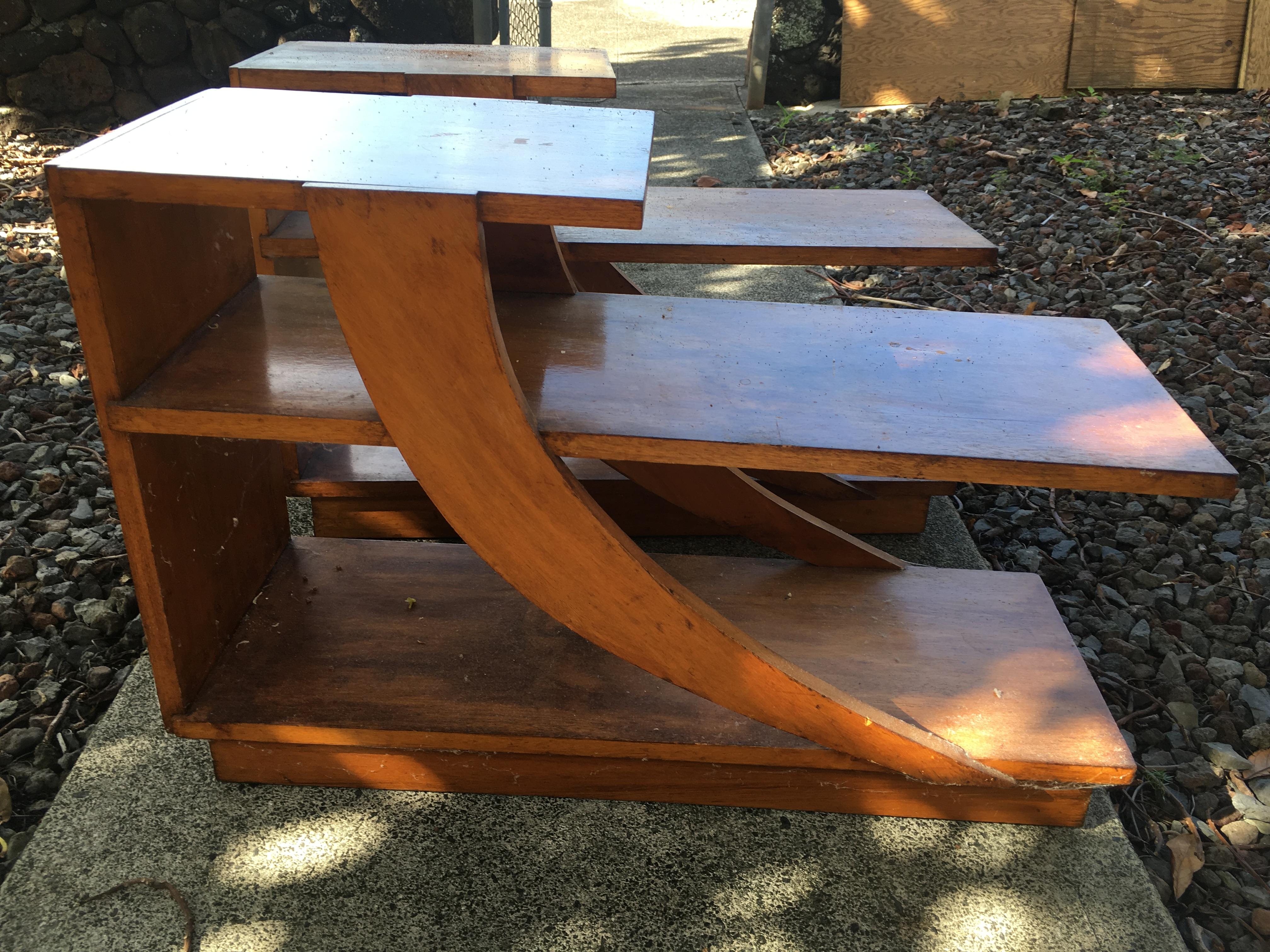 1950/60 Mid Mod Mahogany Side tables