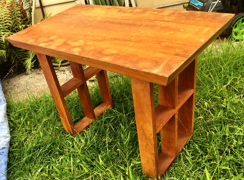 1960's Hawaiian Koa Japanese table