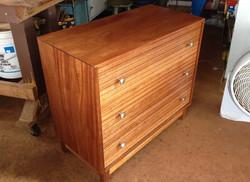 SOLD 1960's Mahogany dresser
