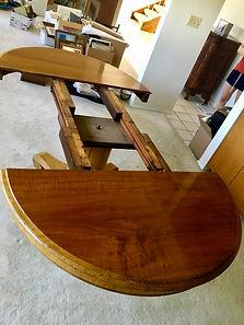 1900 Hawaiian Koa diningroom table
