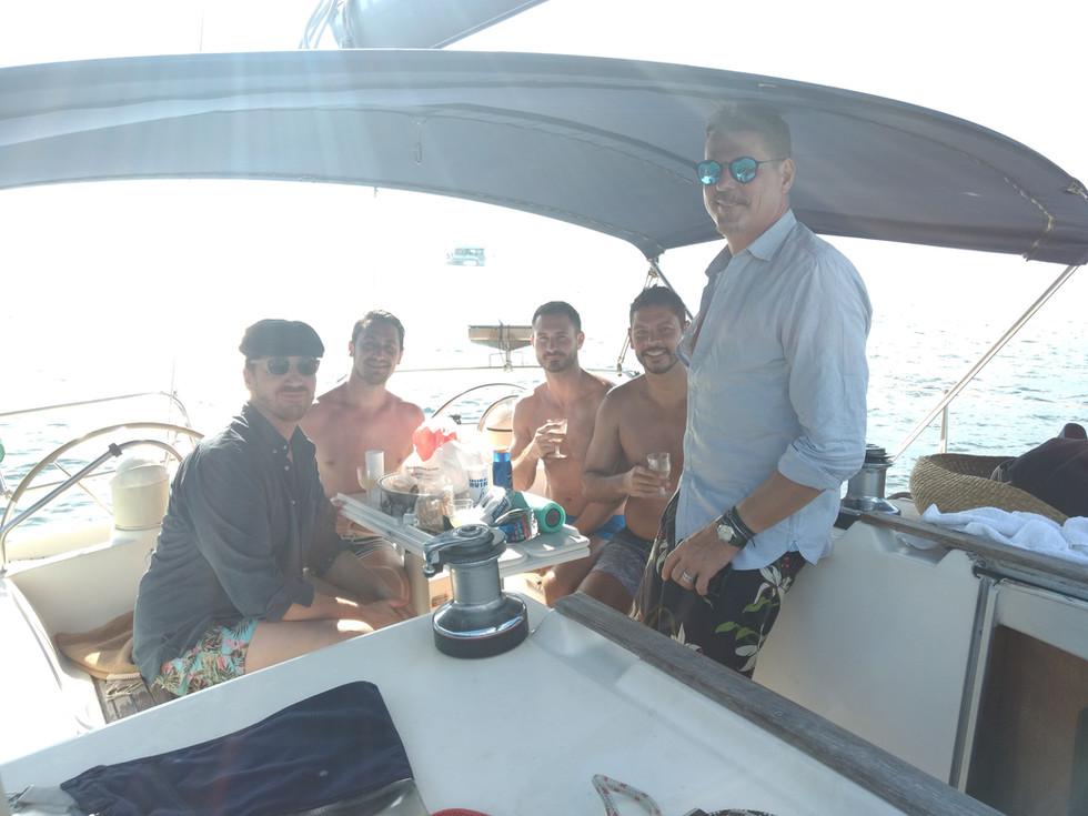 Nas  Ilhas Cagarras