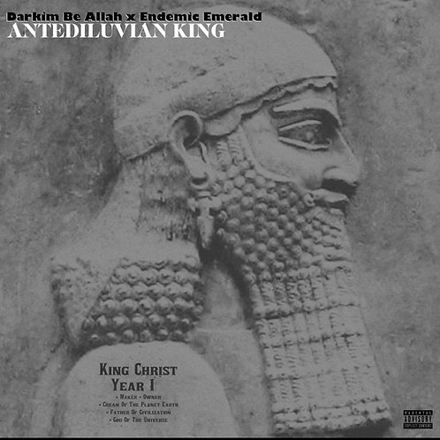 Darkim Be Allah X Endemic Emerald - Antediluvian King CD