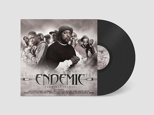 "Endemic Emerald - Terminal Illness 12"" Vinyl"
