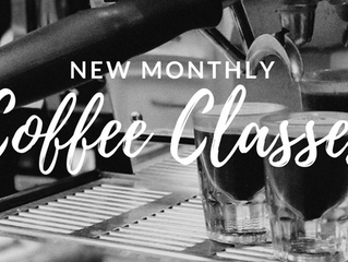 Coffee Classes Starting in February!