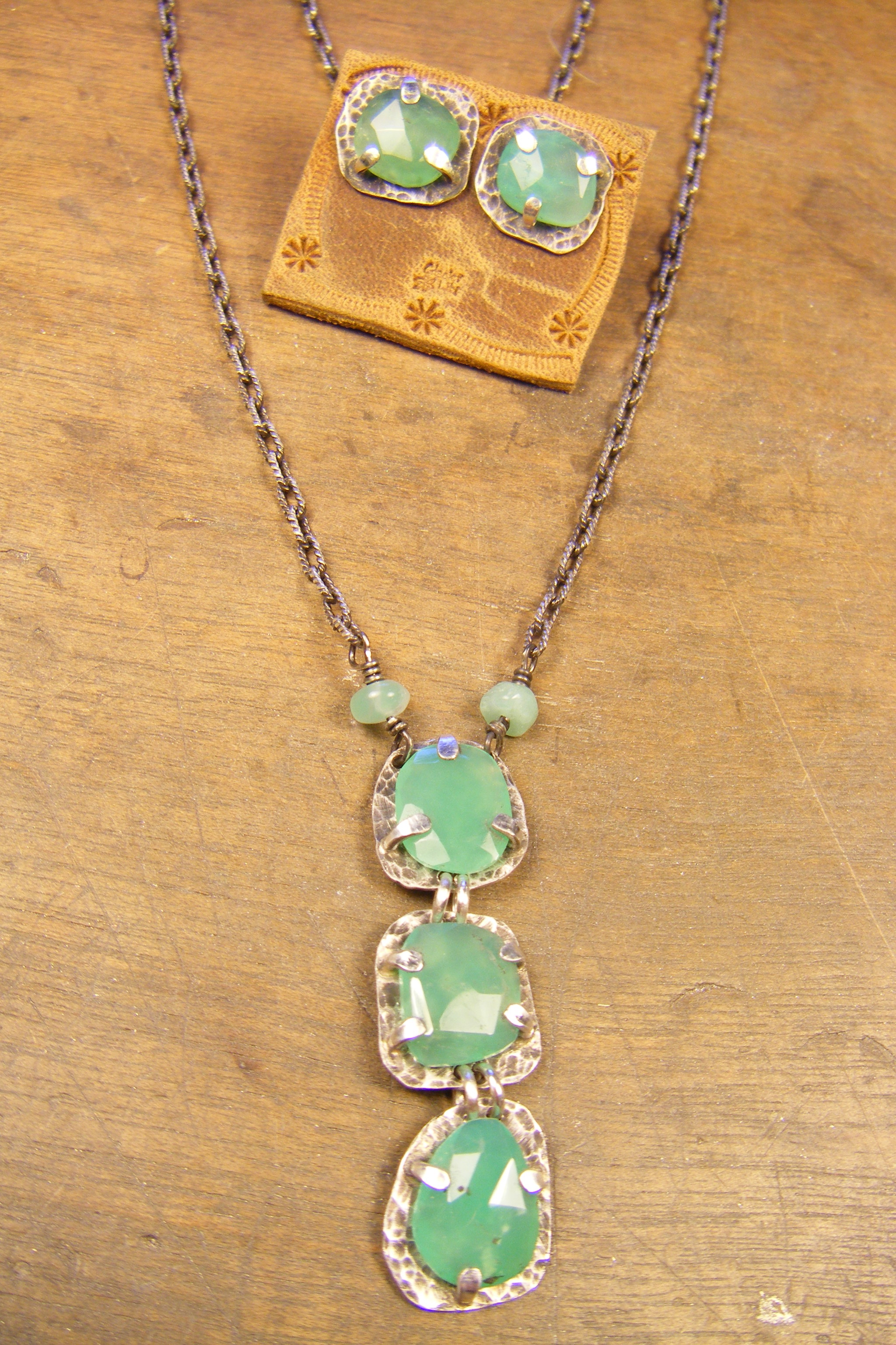 Triple Chrysoprase