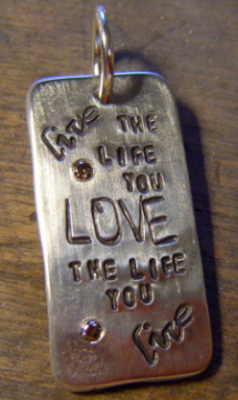 Heavy Silver Dog Tag