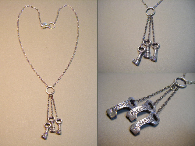 3 Keys Necklace