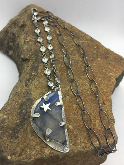 Half Moon & Star Labradorite