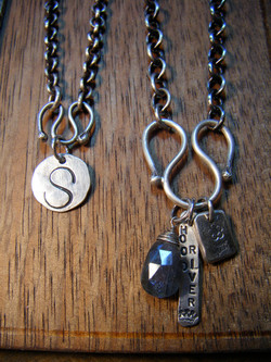 Charm Holder Necklaces