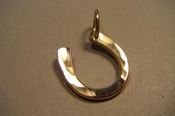 Gold Fill Horseshoe Pendant