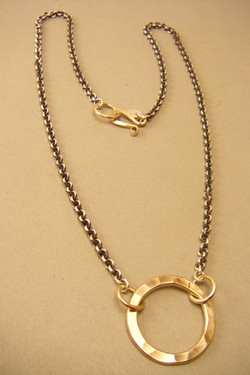 10 gauge GF circle on cable chain