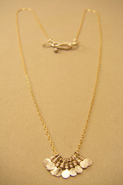 Silver Payettes on GF Chain
