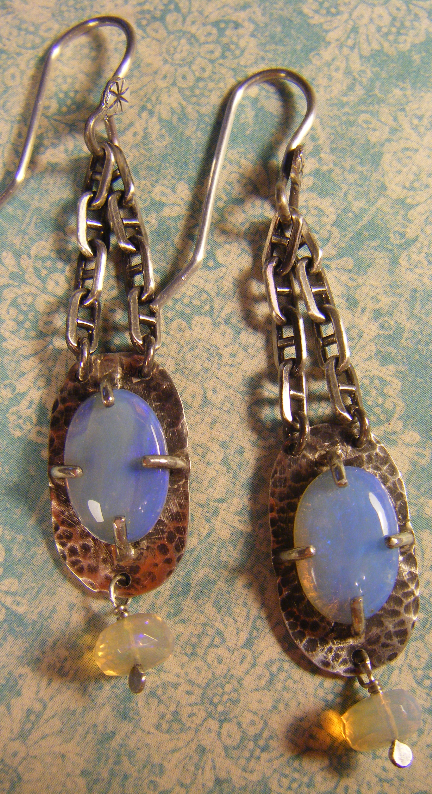 Austrailian Opal Dangle