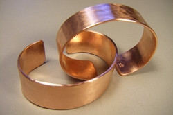 "3/4"" wide Copper Cuff"